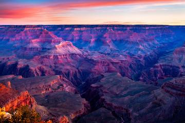 Sunrise at the Grand Canyon Wall mural