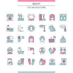 beaty salon icons