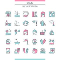 beaty salon icons