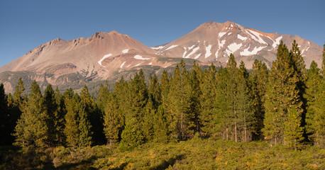 Mount Shasta Shastina Cascade Range California National Forest