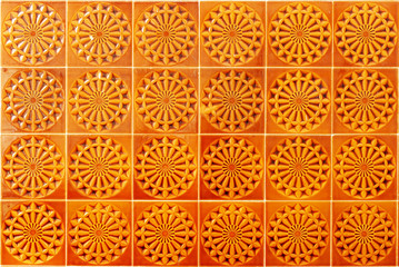 Portuguese tiles, Faro, Portugal