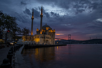 Magnificent istanbul city, historical peninsula , Fatih mosque , Sultan Ahmed mosque ,  Suleymaniye Mosque , Ortakoy mosque