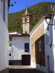 Linares de la Sierra, pueblo de Huelva, Andalucía (España) situado en la parte oriental de la Comarca de la Sierra de Huelva