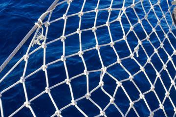 Segelschiff-Netz