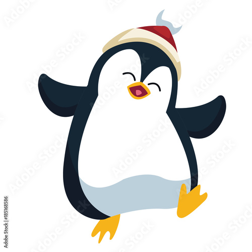 penguin christmas cartoon - Christmas Cartoon Pictures