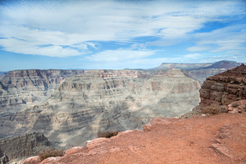 The beautiful view at Eagle Point in Arizona