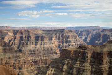 The Grand Canyon's majestic mountains