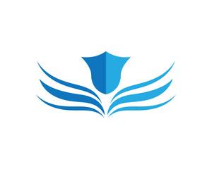 Wing Logo Template vector icon  illustration design