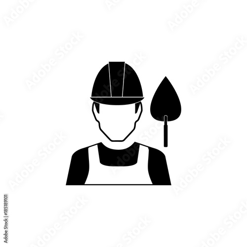 builder avatar icon characters of professions icon premium quality