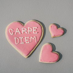 Heart Shaped Cookies Seize the Day!