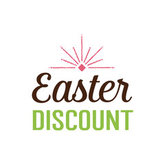 Easter Discount Inscription