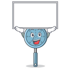 Up board skimmer utensil character cartoon