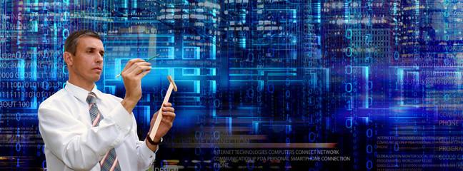 IT technology.e-business.cyberspace