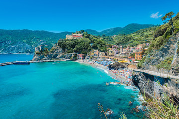 Monterosso in Cinque Terre, Liguria, Italy.