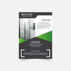 Business , brochure template vector