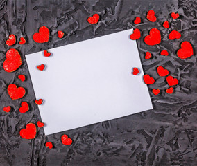 Valentine's Day, Valentine's Day. Valentine's gettings card.