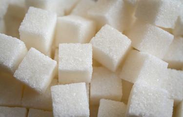 sugar cubes food concept