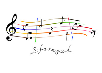 Musical score So far so good
