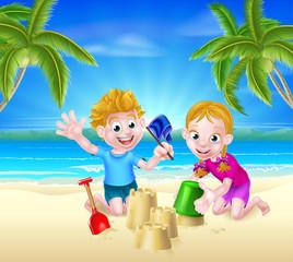 Summer Beach Vacation Kids