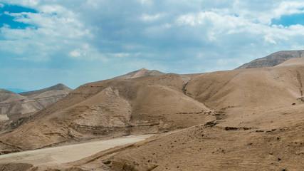Desert near Dead sea