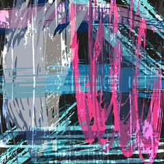 Beautiful abstract gentle graffiti pattern vector illustration