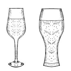 glasses for wine, beer liner 2