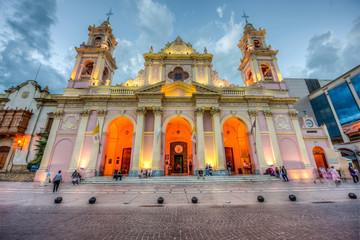 Cathedral Basilica in Salta, Argentina