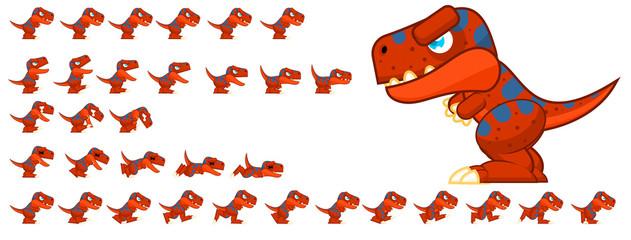 Dinosaur Game Character