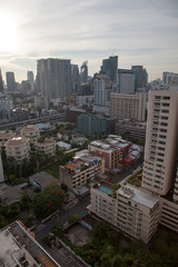 방콕의 일출