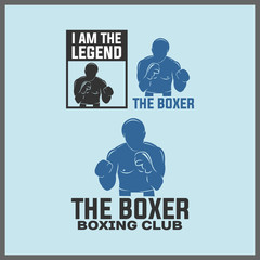 I AM THE LEGEND OF BOXER, ISOLATED