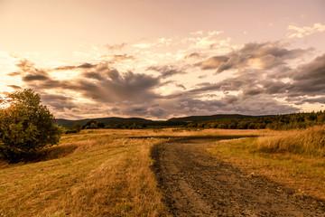Beautiful landscape in autumn, Czech Republic