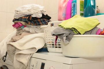 Washed laundry