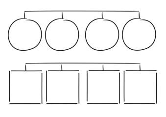 Handgezeichnete Elemente Design