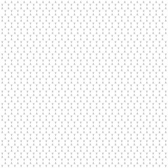 White Geometric circles shape abstract seamless pattern. Decorative texture background. Vector illustration
