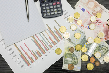 Financial results - checking charts.