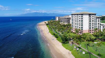 Kaanapali Beach - Island of Maui - Hawaii