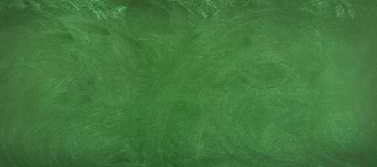 green chalkboard background. clean surface of the blackboard