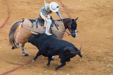 Picador a cavallo