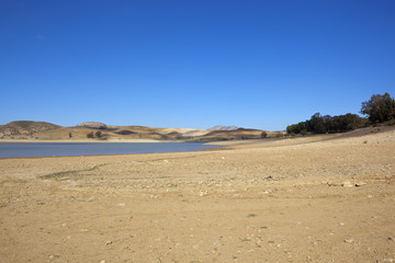 sandy spanish lake