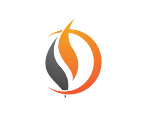 Fire flame Logo Template