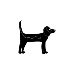 Labrador Retriever icon. Popular Breed of dogs element icon. Premium quality graphic design icon. Dog Signs and symbols collection icon for websites, web design, mobile app