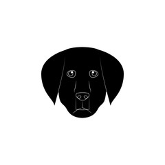 Labrador Retriever face icon. Popular Breed of dogs element icon. Premium quality graphic design icon. Dog Signs and symbols collection icon for websites, web design, mobile app