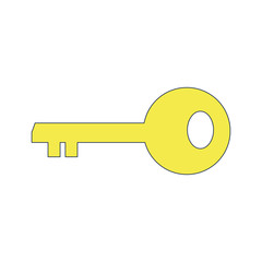 Isolated key design