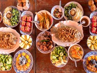 Thai local food,Top view