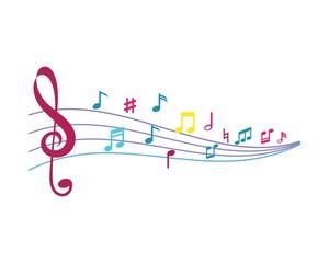 Music note ilustration