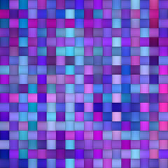 Multicolor Gradient Rectangles Grid. Seamless Black and White Pattern.