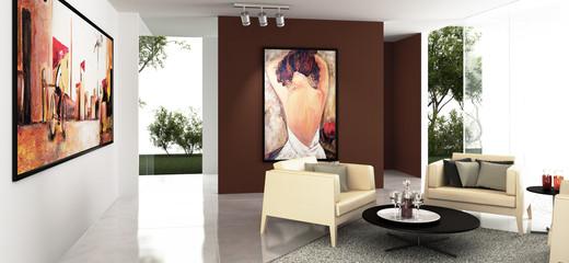 Art Collectors Studio (panoramic)