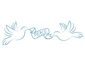 Peace symbol illustration