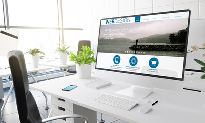 computer office web design
