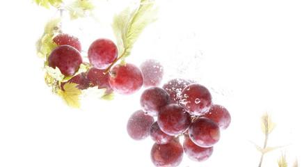 виноград яркий спелый натюрморт